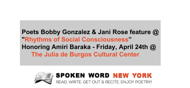 Taller Boricua Presents: Rhythms of Social Consciousness Honoring Amiri Baraka