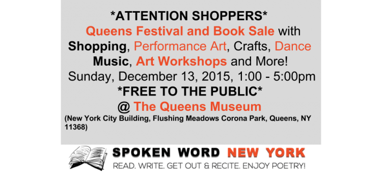 Queens archives spoken word new york for Arts and crafts classes nyc