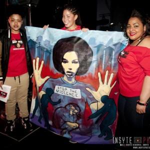 Mommas Hip Hop Kitchen Mar 5. 16 NeNe Ali, Kathleen Adams, Lah Tere Image