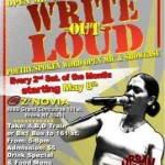Write Out Loud 2010 Flyer