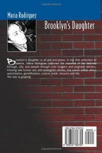 Brooklyn's Daughter Book Back Cover