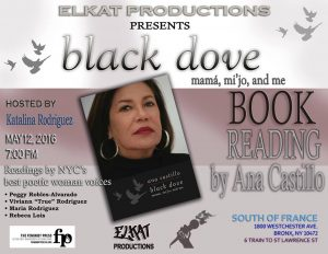 ELKAT Productions Black Dove Book Reading by Ana Castillo Updated