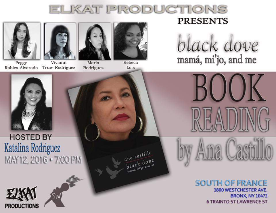 ELKAT Productions Black Dove Book Reading by Ana Castillo