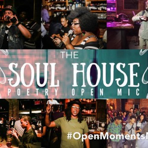 Soul House Poetry Open Mic June 28, 16