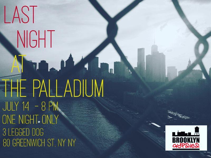 Brooklyn Gypsies July 14, 16 Flyer