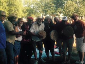 Annual People's Poetry in the Park Bomba