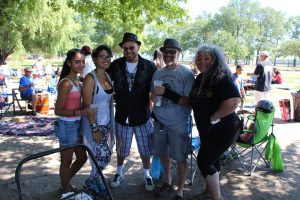 Annual Poetry in the Park Papo w Goddess