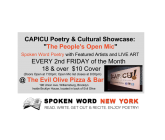 "CAPICU Culture Presents: ""The People's Open Mic"" @ Evil Olive Pizza & Bar"