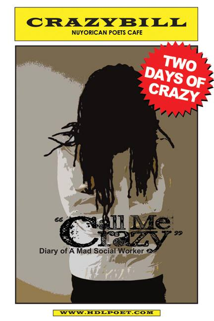 Call Me Crazy March 2017 flyer