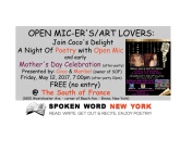 Coco's Delight: A Night Of Poetry with Open Mic @ The South of France – Bronx