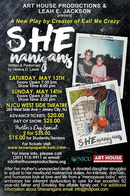 SHEnanigans May 2017 flyer