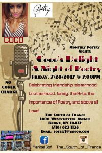 CoCo's Delight July 28, 17 flyer