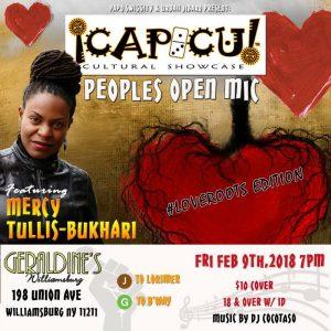 Capicu Feb 9, 18 flyer