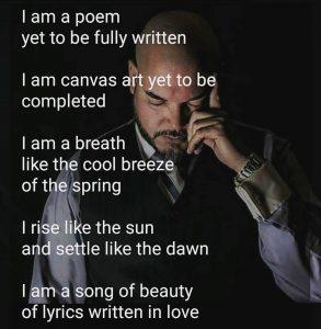 Santos Taino Fb poem image