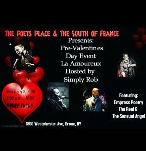 The Poets Place Feb 9, 18 flyer