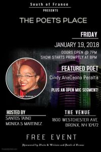 The Poets Place Jan 19, 18 flyer