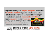 National Poetry Month – Showcase Your Poetry On The Open Mic @ The Inkwell Bedford