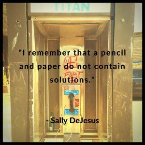 Poets Settlement Sally DeJesus Facebook quote