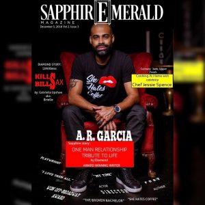 A. R. Garcia mag cover
