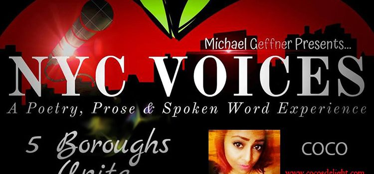 """Poet, COCO Reps The Bronx At """"NYC Voices – 5 Boroughs Unite"""" – Fri. March 22, 2019 @ Hell Phone"""