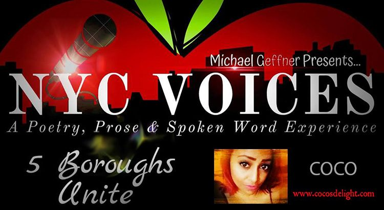 "Poet, COCO Reps The Bronx At ""NYC Voices – 5 Boroughs Unite"" – Fri. March 22, 2019 @ Hell Phone"
