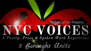 Inspired Word NYC Voices Mar 22, 19 flyer
