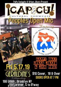 Capicu Culture May 17, 19 flyer