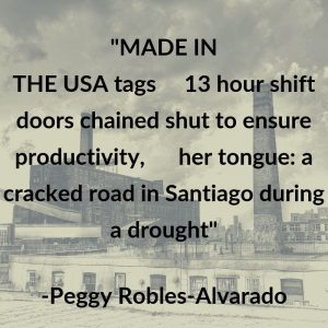Poets Settlement Peggy Robles-Alvarado quote