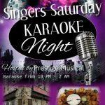 South of France Karaoke Saturdays flyer
